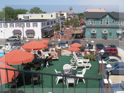 Victorian Motel Cape May New Jersey Location Sundeck Pool